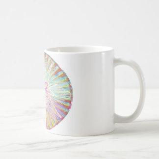 Soul Power : Solar Energy Artistic Design Basic White Mug
