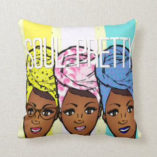 Soul Pretty Throw Pillow