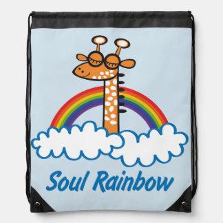 Soul Rainbow Drawstring Bag