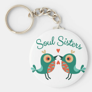 Soul Sisters Keychain
