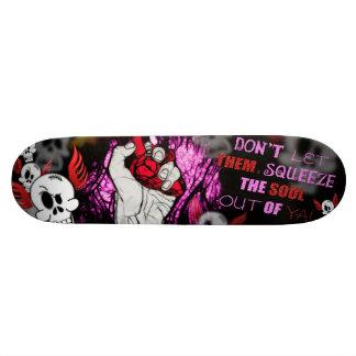 Soul squeeze skate board decks