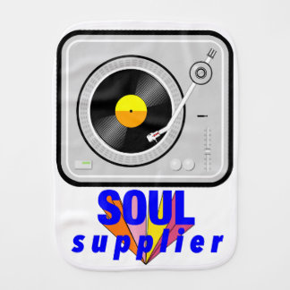 Soul Supplier Burp Cloth