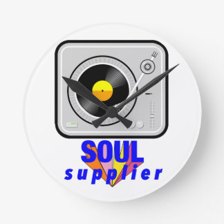 Soul Supplier Round Clock