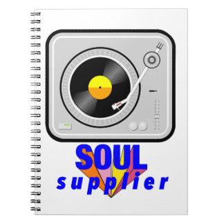 Soul Supplier Spiral Notebook