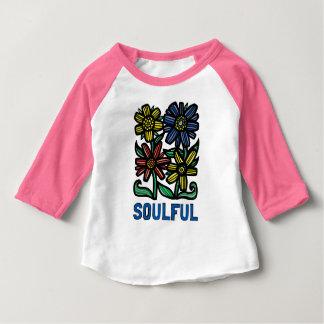 """Soulful"" Baby 3/4 Raglan T-Shirt"