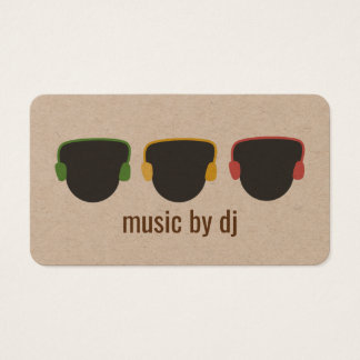 Soulful DJ Business Card