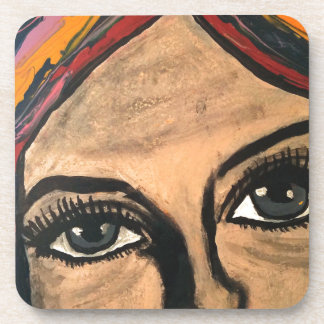 Soulful Eyes Beverage Coaster