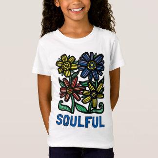 """""""Soulful"""" Girls' Fine Jersey T-Shirt"""