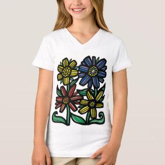 """Soulful"" Girls' V-Neck T-Shirt"