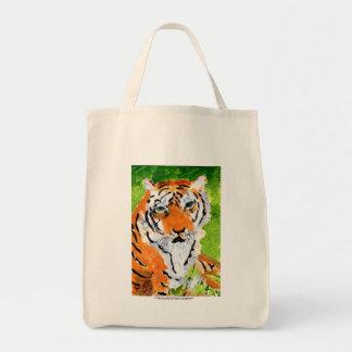 Soulful tiger tote