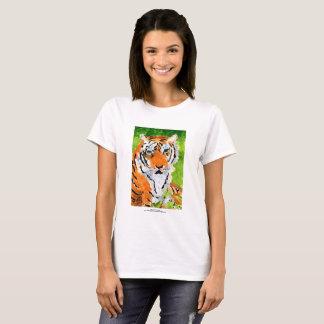 Soulful tiger women's t-shirt