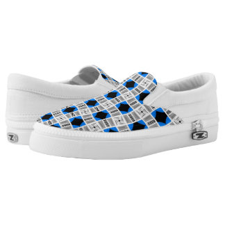 Souliers sneakers Jimette Design blue white black