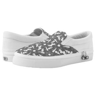 Souliers sneakers Jimette Design grey and white