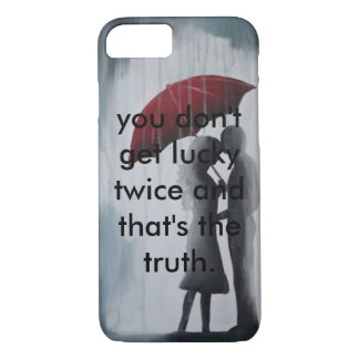 Soulmates Under An Umbrella. iPhone 7 Case