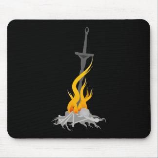 Souls Bonfire Mouse Pad