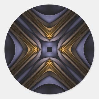 Soul's Core Classic Round Sticker