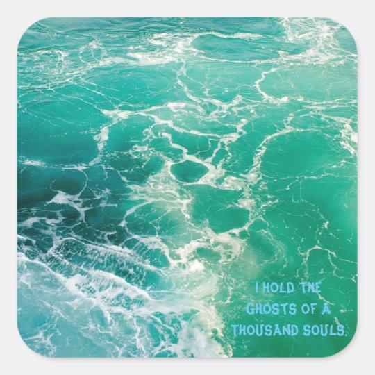 Souls of the Sea 2 Square Sticker