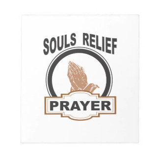 souls relief notepad