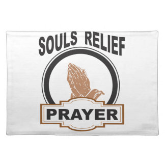 souls relief placemat