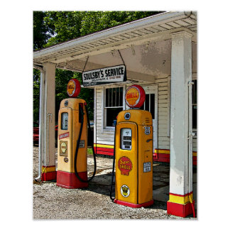 Soulsby's Gas Station Poster