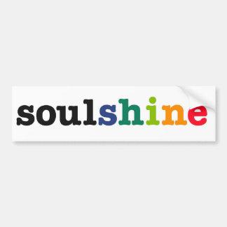 soulshine bumper sticker
