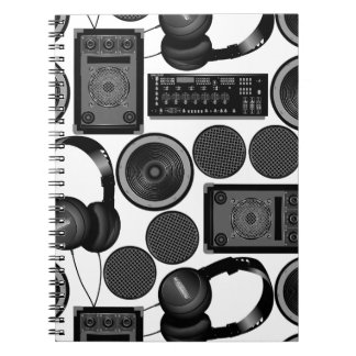Sound and subwoofer speakers notebook