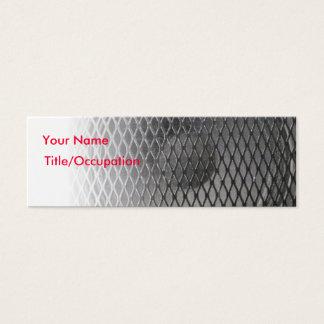 Sound Band Amp Speaker Music Mini Business Card