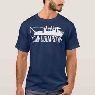 Sound Guardian Mens Navy Blue T-Shirt