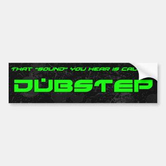"""""""Sound"""" is Dubstep Bumper Sticker"""