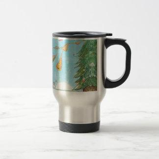 Sound of horns travel mug