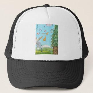 Sound of horns trucker hat