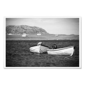 Sound of Iona Boats Photo Art