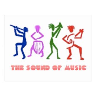 SOUND OF MUSIC sound OF music Postcard
