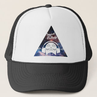 Sound of the Galaxy w/ Man in Headphone Trucker Hat