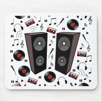 Sound pattern mouse pad