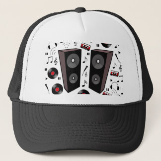 Sound pattern trucker hat