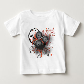 Sound Speaker with Floral Baby T-Shirt