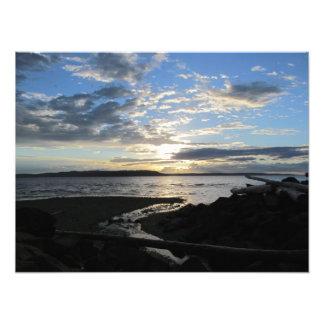 Sound Sunset Photo Print