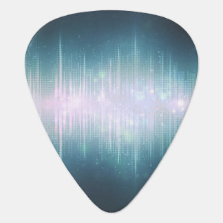 Sound Wave Space Guitar Pick