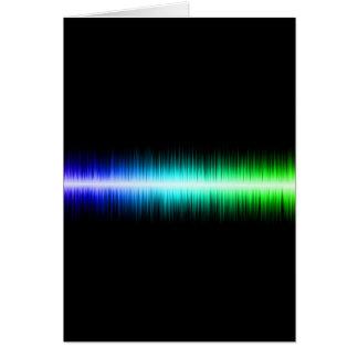 Sound Waves Design Card