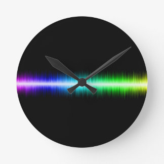 Sound Waves Design Clocks