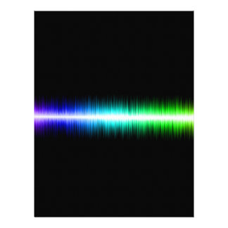 Sound Waves Design Letterhead Design
