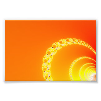 Sound Waves Fractal Art Photo Print