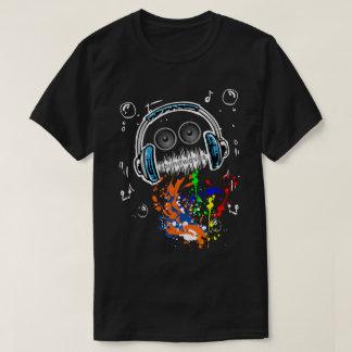 Sound Waves Music Mech T-Shirt