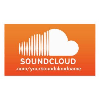SoundCloud Music Business Card