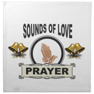sounds of love heaven napkin