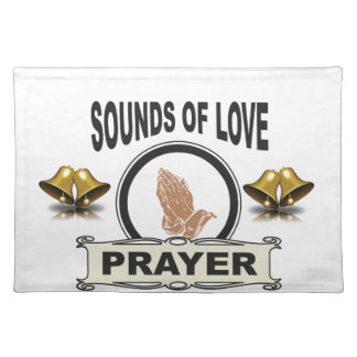 sounds of love heaven placemat