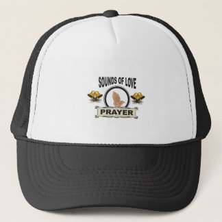 sounds of love heaven trucker hat