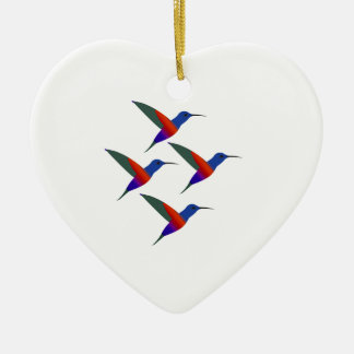 Sounds of Music Ceramic Heart Ornament