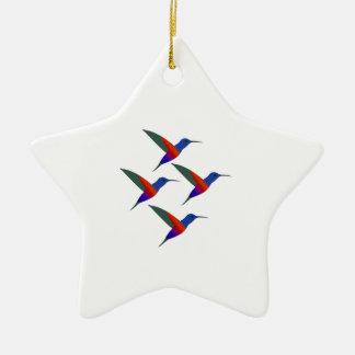 Sounds of Music Ceramic Star Ornament